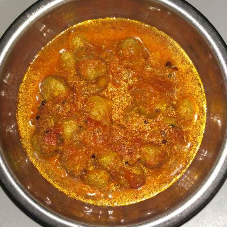 Photo of Soya chunks curry by Tejaswi Yalamanchi at BetterButter