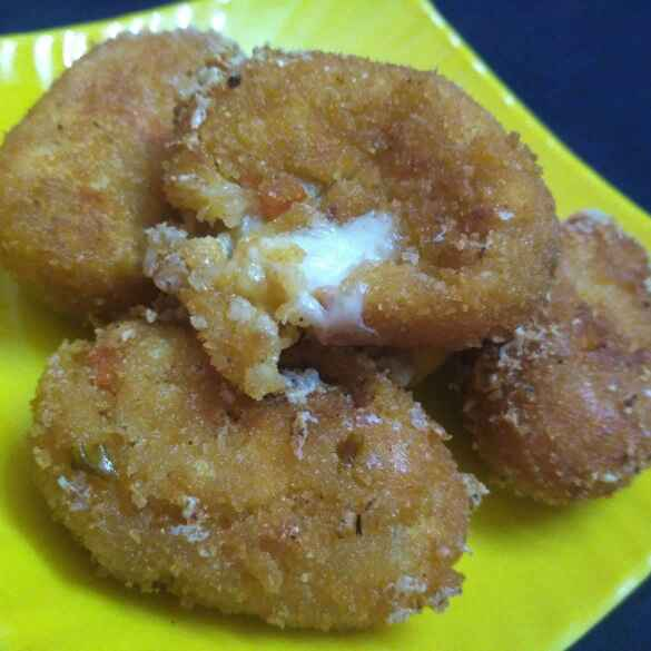 Photo of Crispy Vegetable paneer cheese nuggets by Tejaswi Yalamanchi at BetterButter