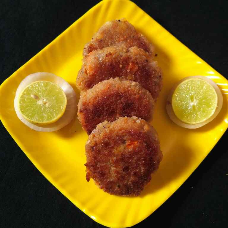 Photo of Soya chunks cutlet/ meal maker cutlet by Tejaswi Yalamanchi at BetterButter