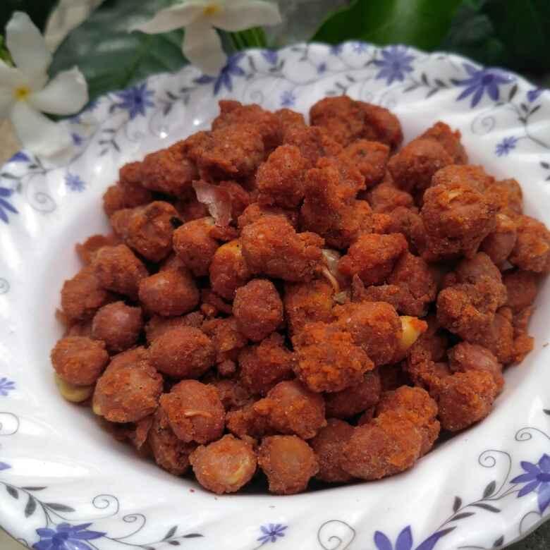 How to make Masala kadalai/masala peanuts