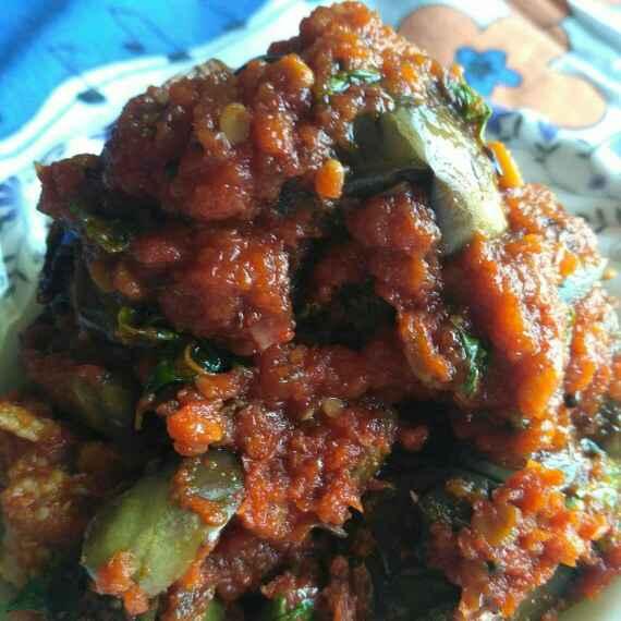 Photo of Brinjal onion curry by Tejaswi Yalamanchi at BetterButter