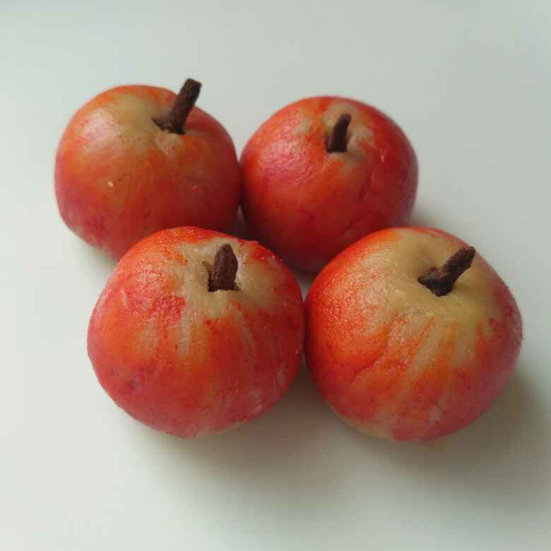 Photo of Kaju apple sweet by Tejaswi Yalamanchi at BetterButter