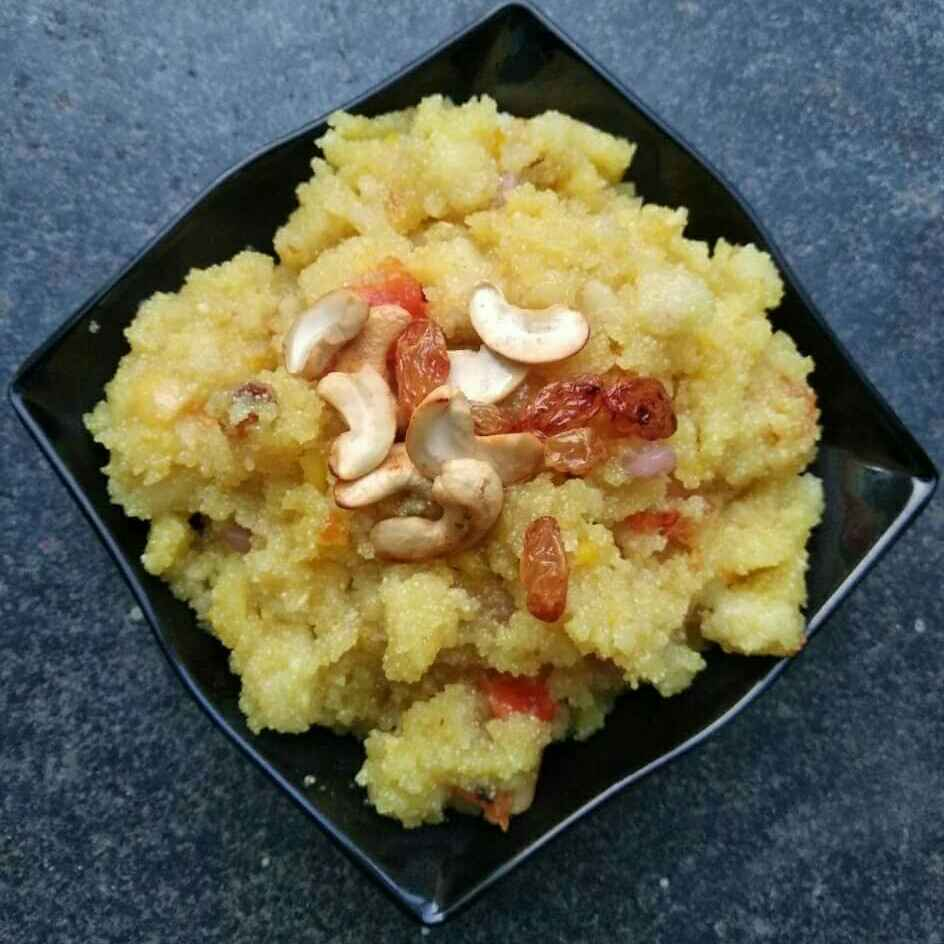 Photo of Mixed Fruit Kesari by Tejaswi Yalamanchi at BetterButter