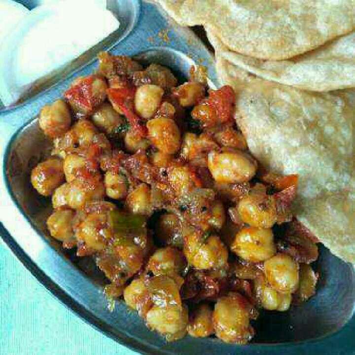 How to make Simple Chana Curry