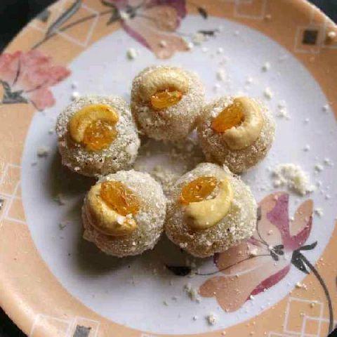 Photo of Navratri sweet potato ladoo by Tejaswi Yalamanchi at BetterButter