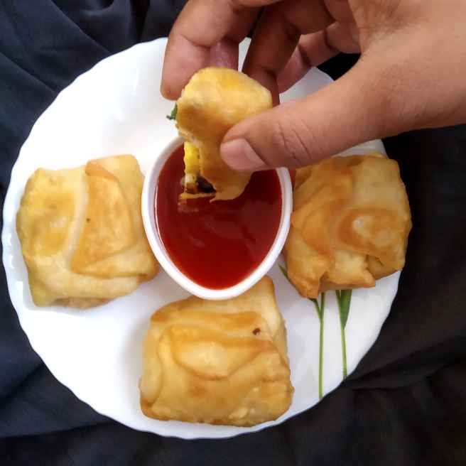 Photo of EGG PUFF WITHOUT OVEN by Tejaswi Yalamanchi at BetterButter