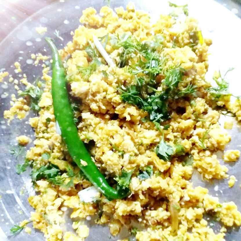 How to make Very light anda bhurji