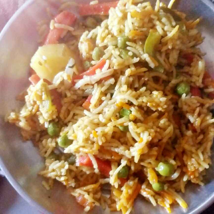 Photo of Pulav rice restorent style by tejswini dhopte at BetterButter