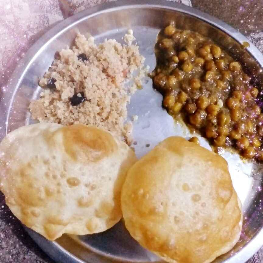 Photo of Panjabi dish chole bhture by tejswini dhopte at BetterButter