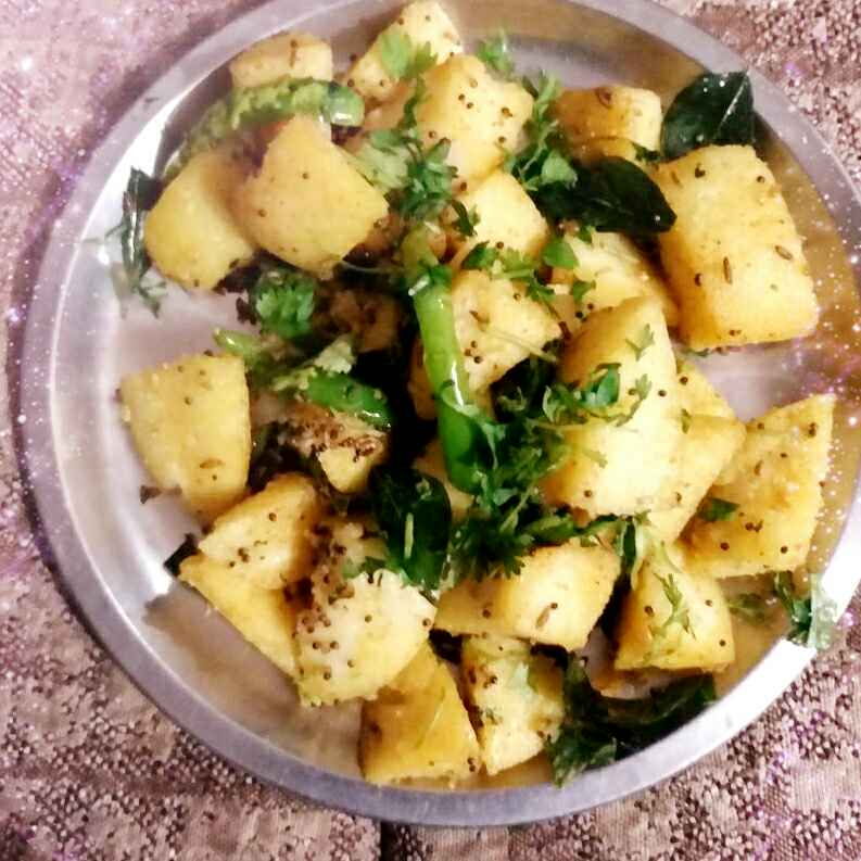 How to make Fry chatpatit Idli