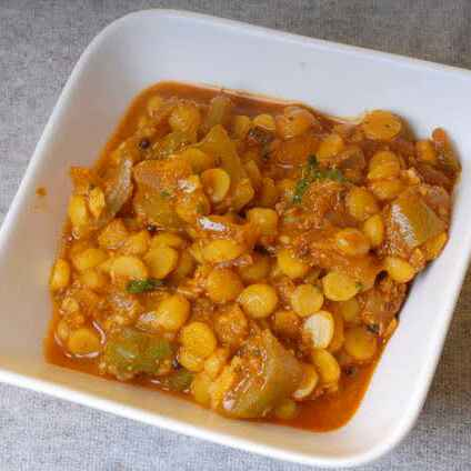 Photo of Ridge gourd with chickpeas by Teju Auti at BetterButter