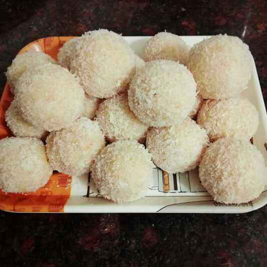 Photo of Rava coconut ladoo by Teju Auti at BetterButter