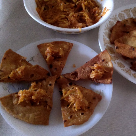 How to make Indian Twist to Tex-Mex Tortilla Chips