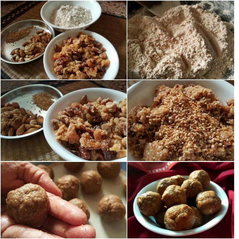 Photo of Nutritious  Jowar flour ( Sorghum flour) Laddu (Laddoo) by Tikuli Dogra at BetterButter
