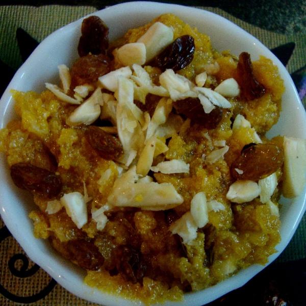 How to make Kaddu Ka Meetha | Yellow Pumpkin Halwa