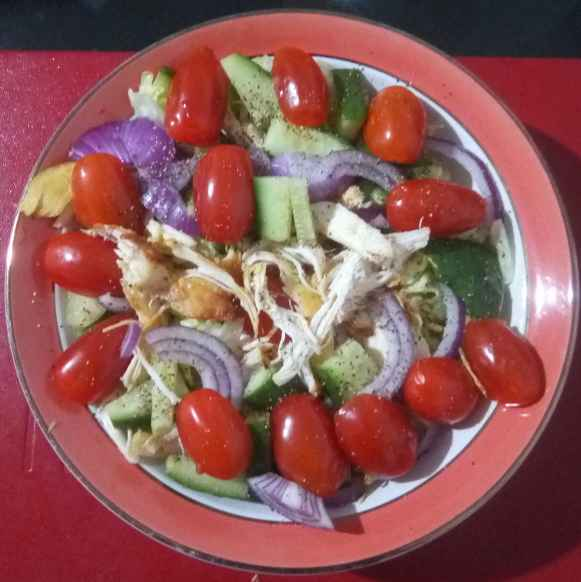 Photo of Chicken salad by টিনা সাধুখাঁ at BetterButter