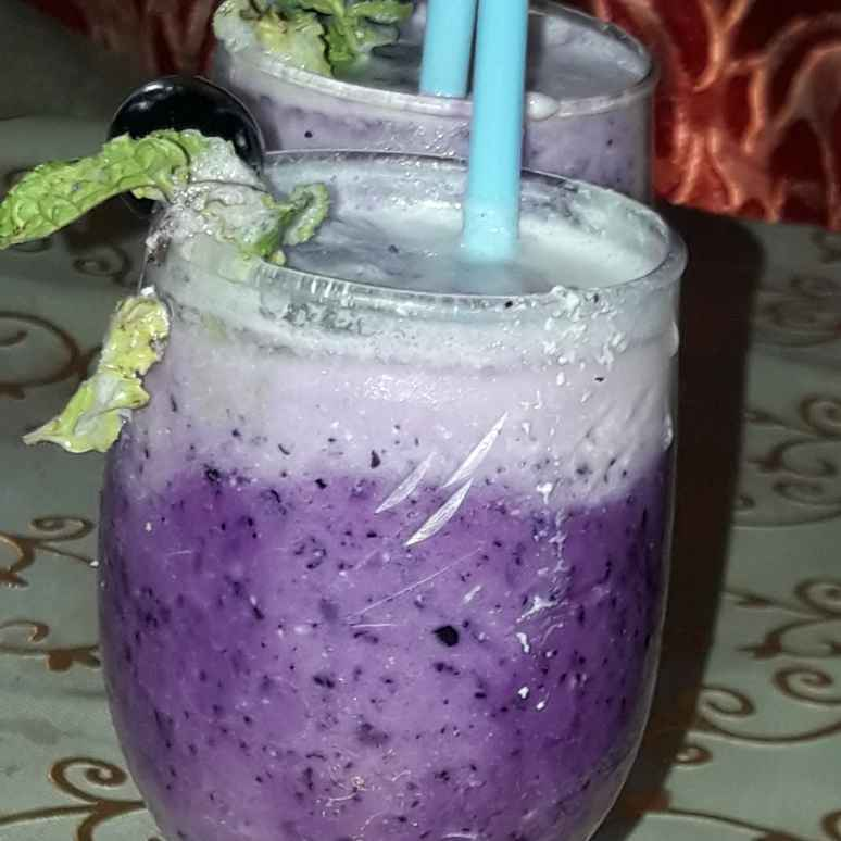 How to make BlackBerry Sugar free lassi