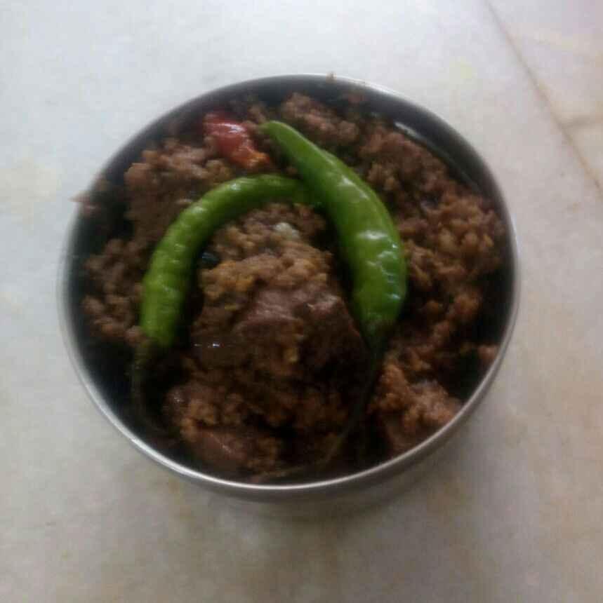 Photo of Keema kaleji by Titir Pande at BetterButter
