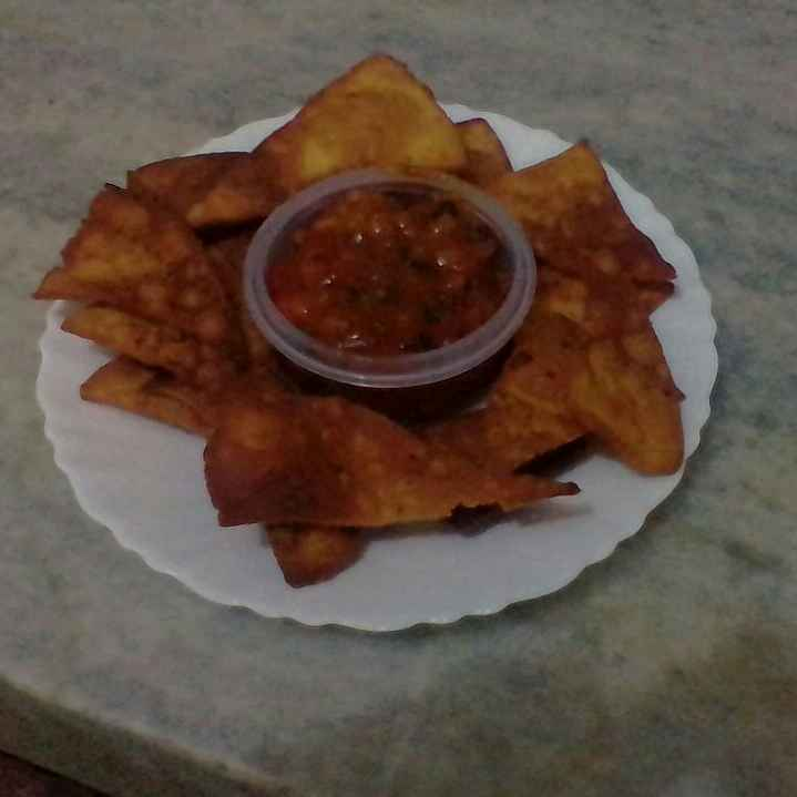 Photo of Nachos With Roasted Tomato Salsa by Titir Pande at BetterButter
