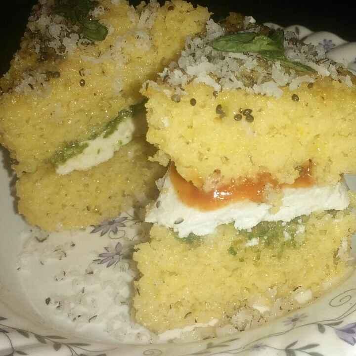 Photo of Paneer dhokla sandwich by Tiwari Mohini at BetterButter