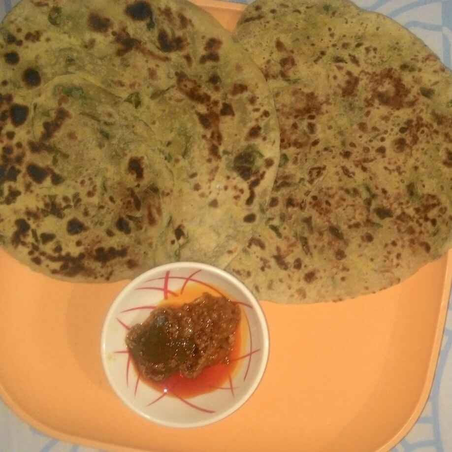 How to make Oats And Methi Paratha