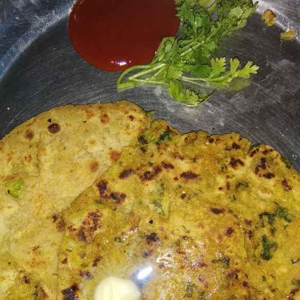 How to make Mix vegetable paratha