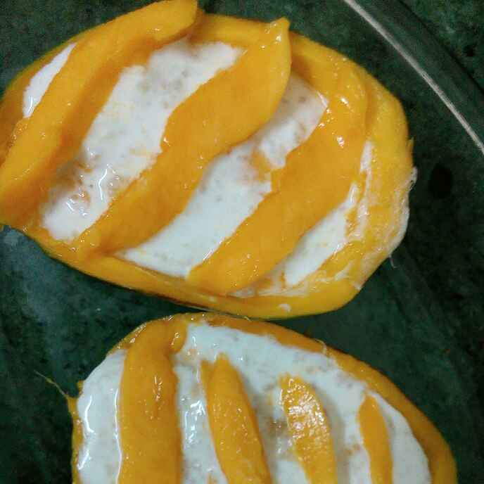 How to make Mango rabri in mango