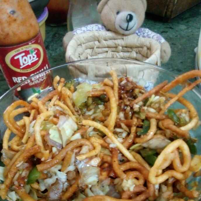 How to make Crispy,crunchy,chinese bhel with dals
