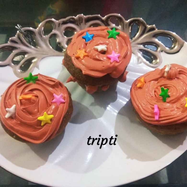 Photo of Chocolate cup cake by tripti gautam at BetterButter