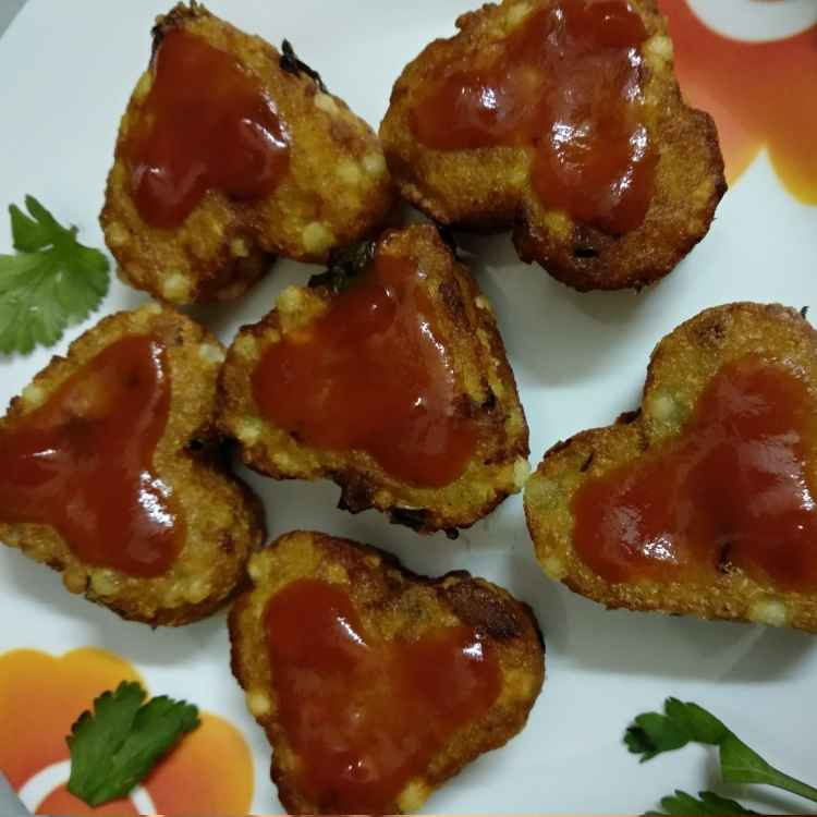 Photo of Aloo sabudand cutlet by trapti jain at BetterButter