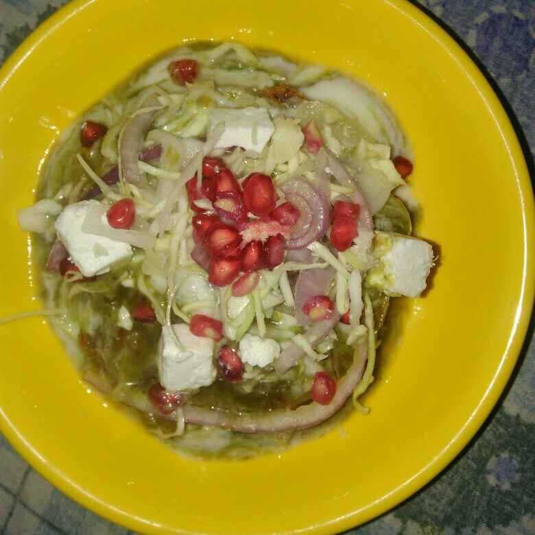 How to make Chatpati Chaat With Pomegranate Seeds