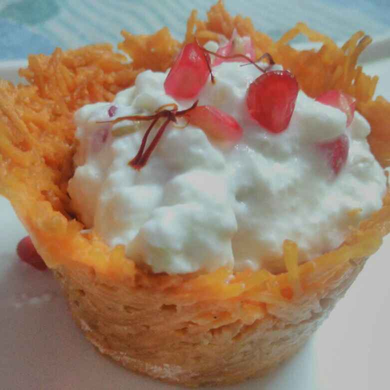 Photo of Vermicelli shrikhand by Tripti Saxena at BetterButter