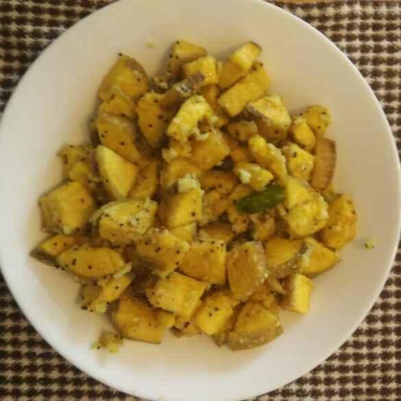 Photo of plaintain stir fry by Triptila KS at BetterButter