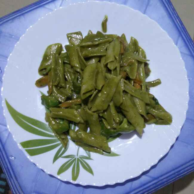 Photo of Vegetable spinach pasta  by రమ్య వూటుకూరి at BetterButter