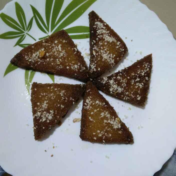Photo of Bread kaaja  by రమ్య వూటుకూరి at BetterButter