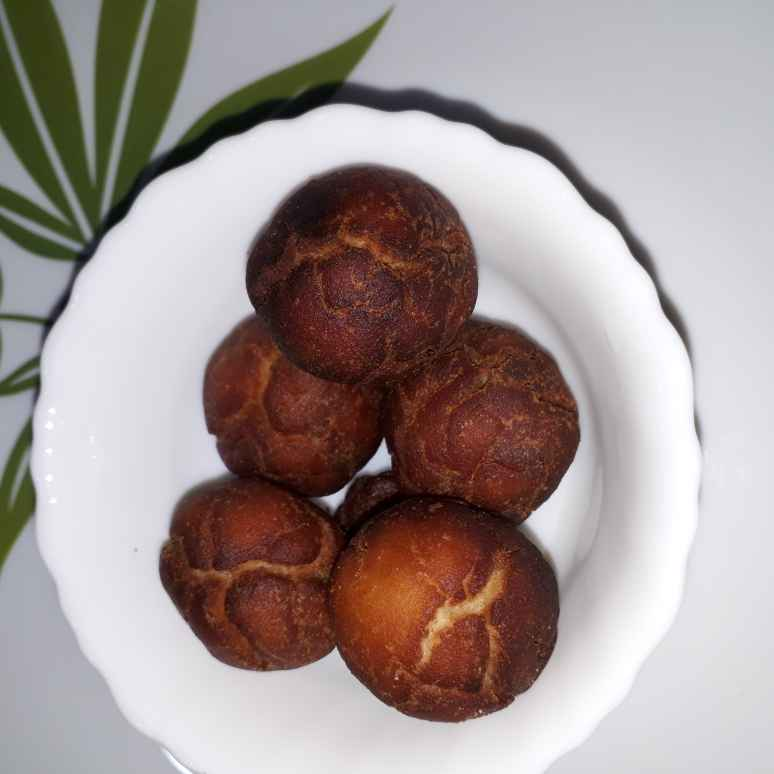 How to make Jaggery rice balls