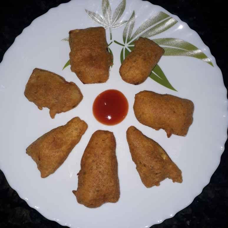 How to make అరటి కాయ బజ్జి