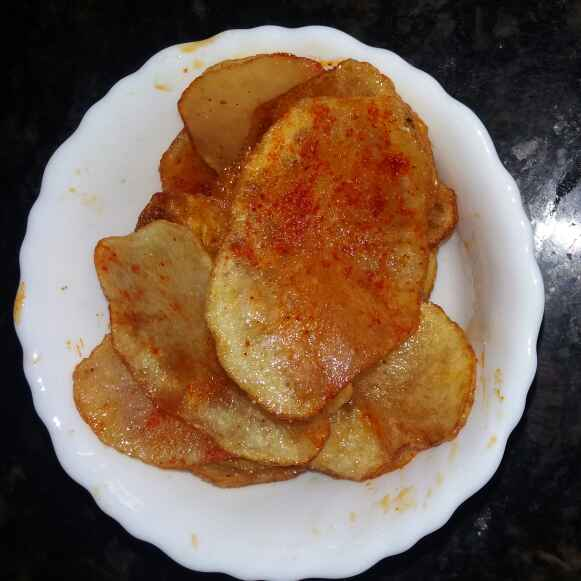 Photo of Aloo chips by రమ్య వూటుకూరి at BetterButter