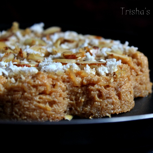 How to make Baked Chhana (with Coconut & Jaggery)