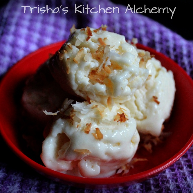 How to make Tender Coconut Ice Cream (Eggless)
