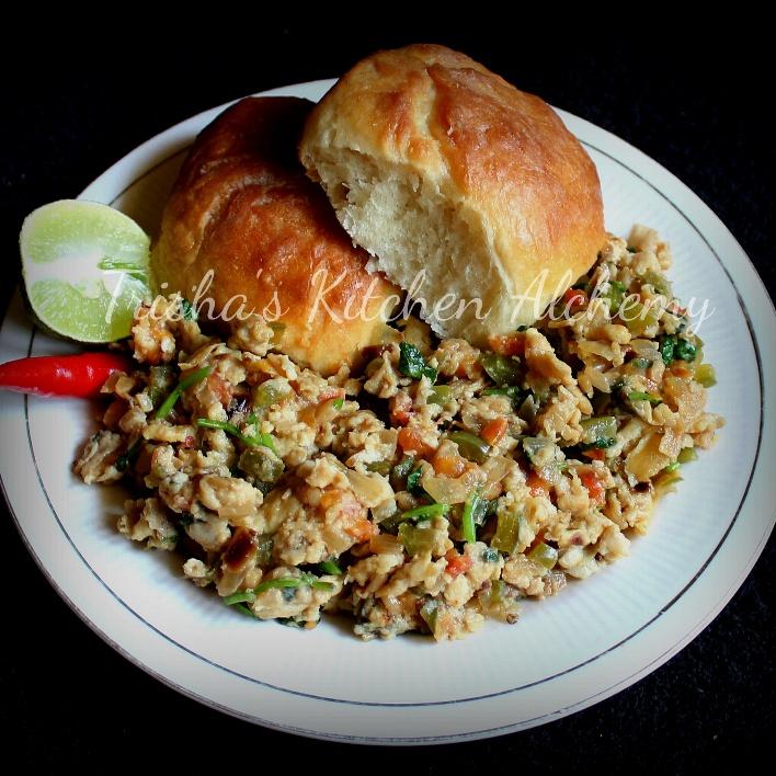 How to make Bhurji Pav