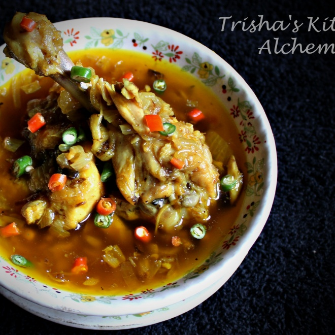 Photo of Goalondo Steamer Chicken or Boatmen Style Chicken Curry by Trisha Rudra at BetterButter