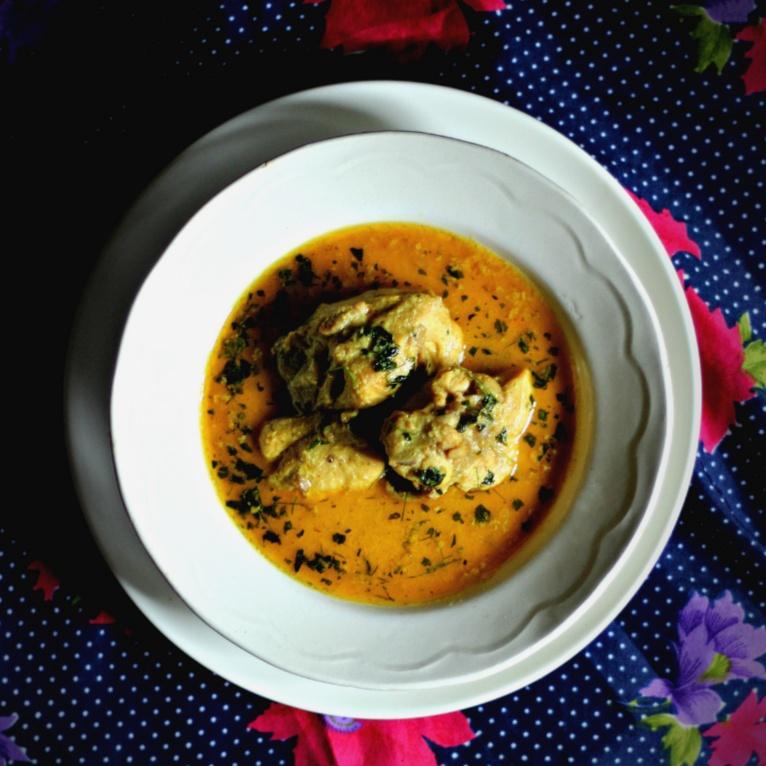 Photo of Kokur Yakhni (Kashmiri Chicken Yakhni) by Trisha Rudra at BetterButter