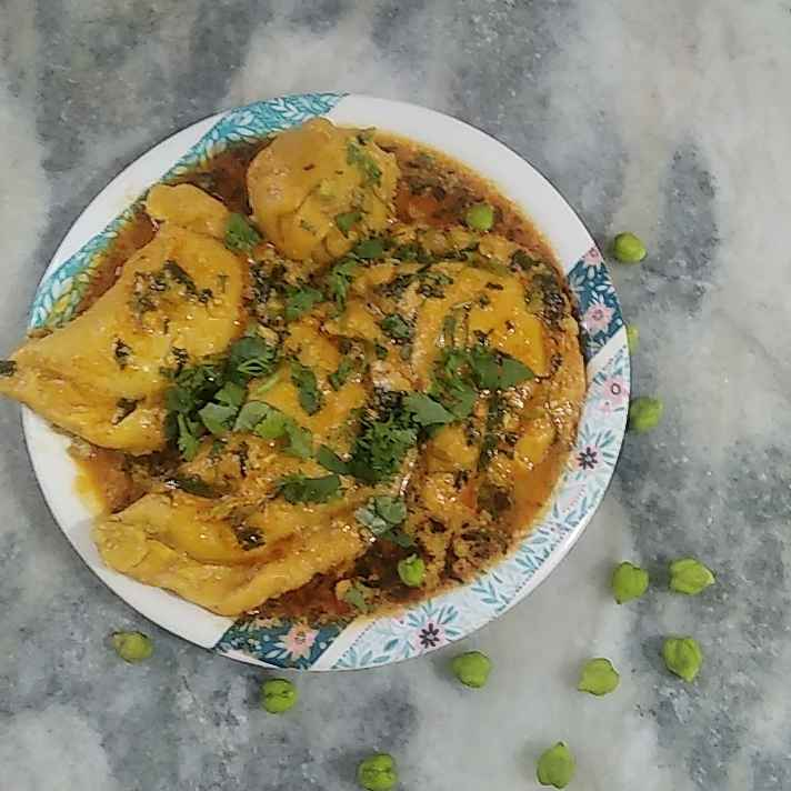 Photo of Green Chickpeas Stuff Aamti. by Triveni Patil at BetterButter