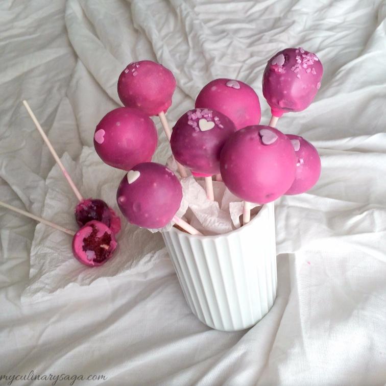 Photo of Red Velvet Cake Pops by Trupti Kharche at BetterButter