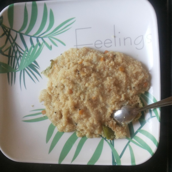 How to make Wheat daliya upma