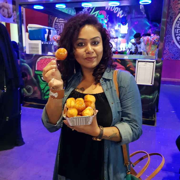Tulika Biswas food blogger