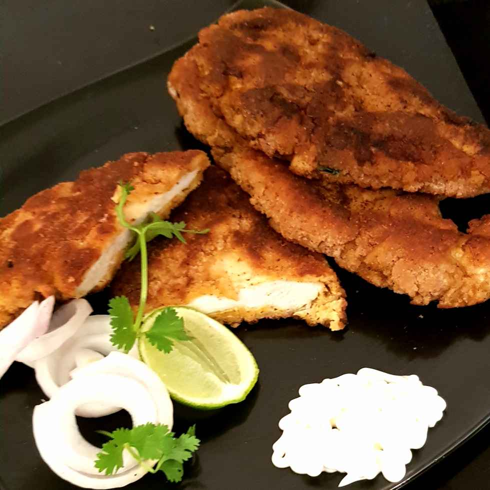 How to make Butter milk and Mayo fried Chicken