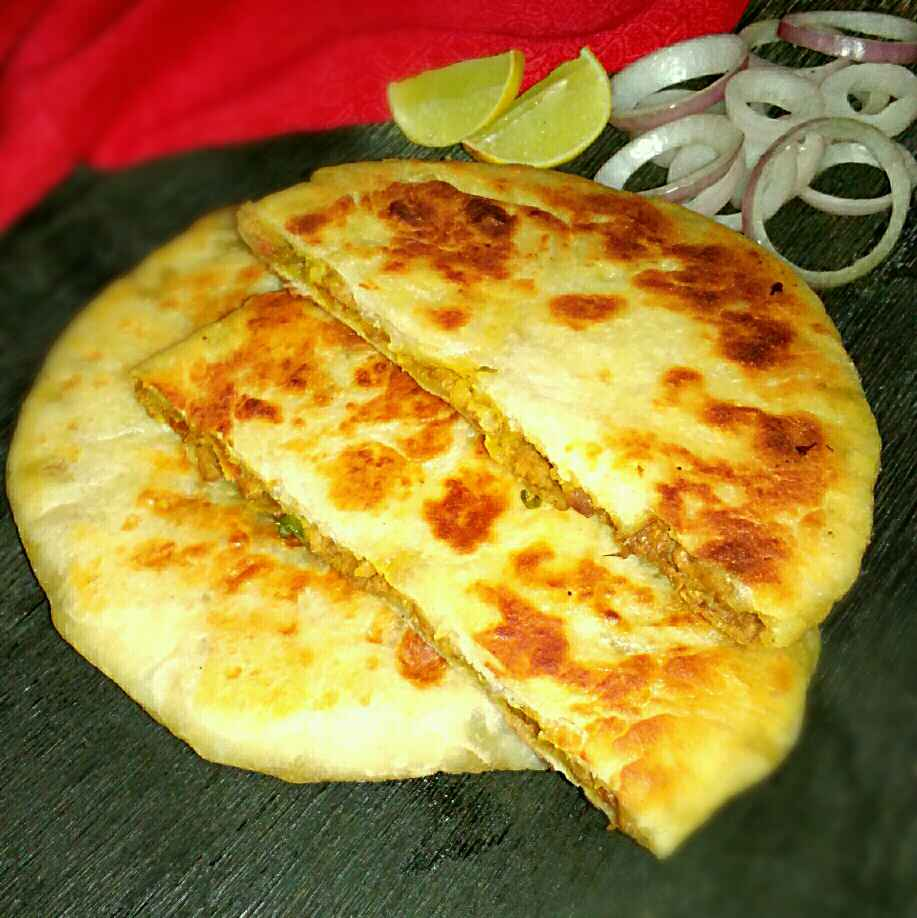 Photo of Soya Stuff Naan by Tulika Santra at BetterButter