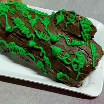 Photo of Log cake by Tulika Santra at BetterButter